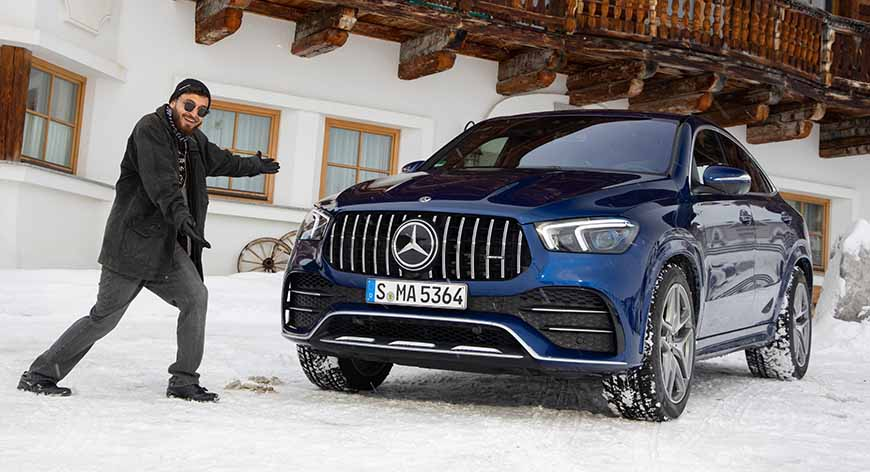مرسيدس AMG GLE 53 4Matic+