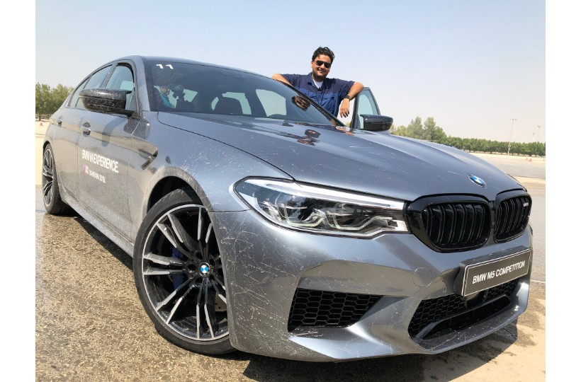 تجربة BMW M5 Competition الجديدة